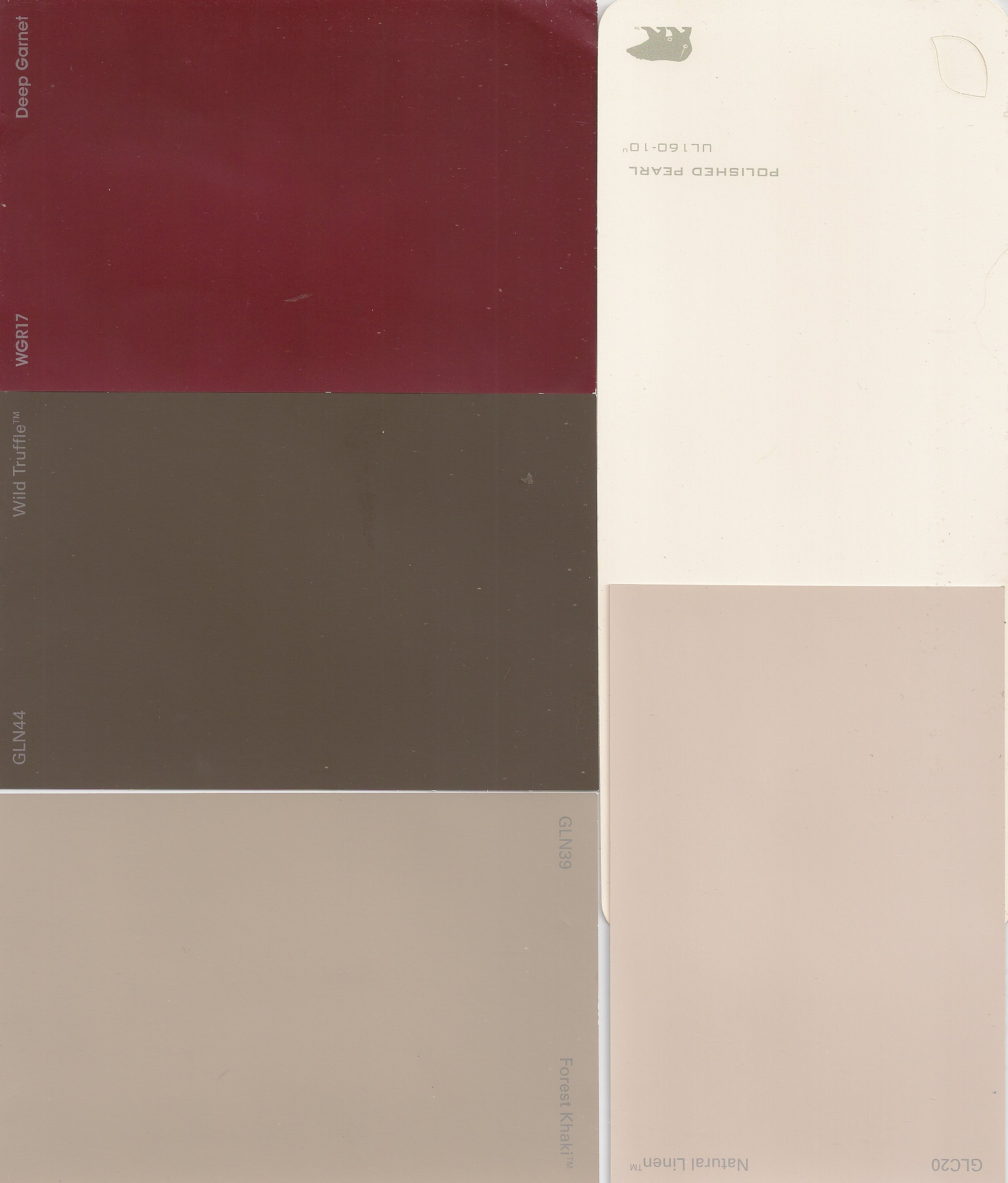 Natural linen oh sew worth it for Natural paint color palette